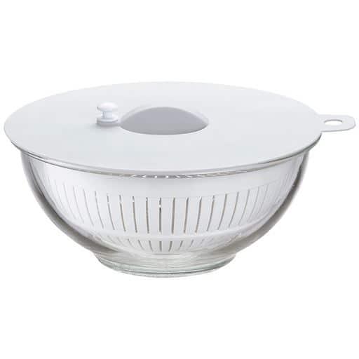 デリッシュライフ 耐熱ガラスボウルセット - セシール ■カラー:ホワイト系 ■サイズ:A(15cm),B(18cm),C(21cm)