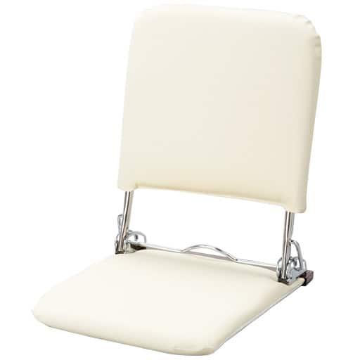 スチール座椅子 グロリア レザーの写真