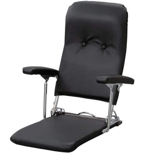 スチール座椅子 ロイヤル レザーの写真
