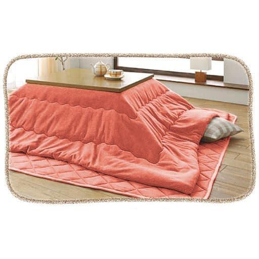 吸湿発熱こたつ掛け布団 ■カラー:グリーン ピンク ■サイズ:正方形(190×190cm),長方形(240×190cm)と題した写真