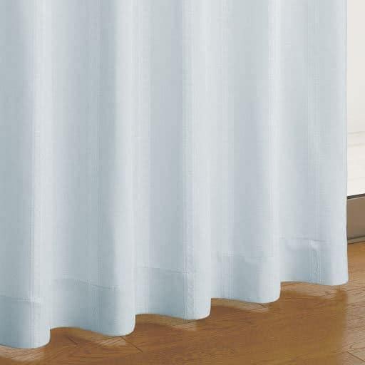 ジャカード織カーテン ■カラー:ブルー アイボリー ■サイズ:幅100×丈90(2枚組),幅100×丈110(2枚組),幅100×丈150(2枚組),幅100×丈170(2枚組),幅100×丈178(2枚組),幅100×丈185(2枚組),幅100×丈190(2枚組),幅100×丈195(2枚組),幅200×丈260(1枚物),幅150×丈90(2枚組),幅150×丈100(2枚組),幅150×丈と題した写真