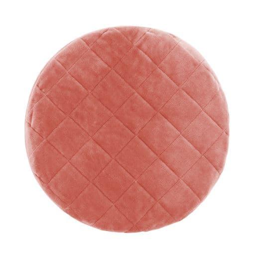 円形座布団(クッション)(同色2枚組) - セシール ■カラー:ピンク グリーン ベージュ ■サイズ:A(ソフトタイプ),B(ハードタイプ)