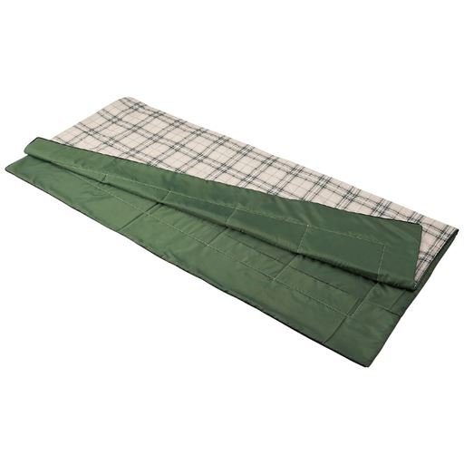 アルミシート入り寝袋(収納袋付き) - セシール ■カラー:チェック柄