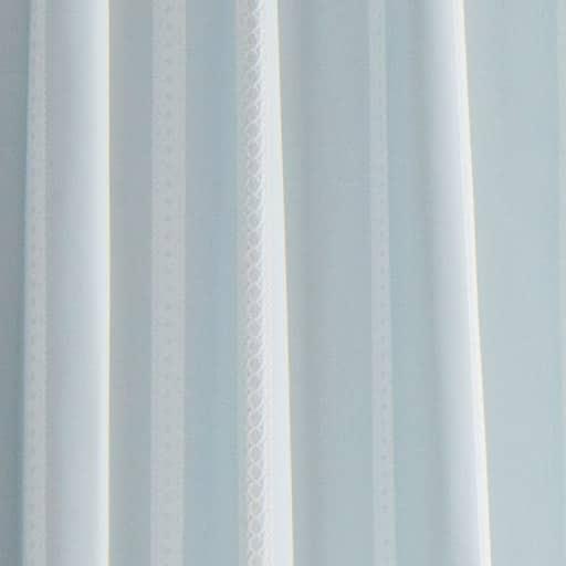 〔形状記憶付き〕ジャカード織カーテン - セシール ■カラー:ブルー アイボリー ■サイズ:幅100×丈90(2枚組),幅100×丈110(2枚組),幅100×丈120(2枚組),幅100×丈135(2枚組),幅100×丈150(2枚組),幅100×丈170(2枚組),幅100×丈178(2枚組),幅100×丈185(2枚組),幅100×丈190(2枚組),幅100×丈195(2枚組),幅100×丈200(2枚組),幅100×丈205(2枚組),幅100×丈210(2枚組),幅100×丈215(2枚組),