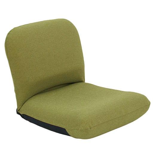 背中を支える美姿勢座椅子専用カバー ■カラー:グリーン ブラウン レッドと題した写真