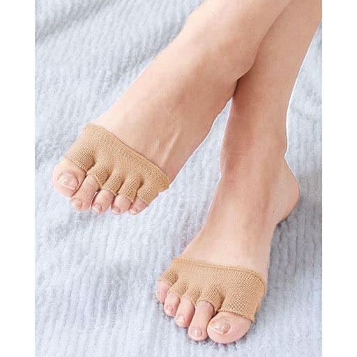 吸汗速乾足指カバー NEW足さき美人 - セシール ■サイズ:8足組,4足組