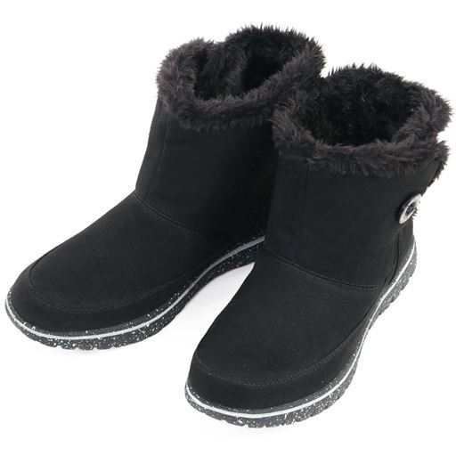 【レディース】 ノースデイト Wグリップスパイクブーツ - セシール ■カラー:ブラック ■サイズ:23cm,24cm