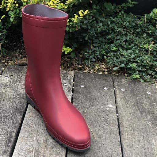 【レディース】 アサヒシューズ ブーツR307/ガーデンブーツ 日本製 ■カラー:ワイン ■サイズ:23.0cm,24.0cm,22.5cm