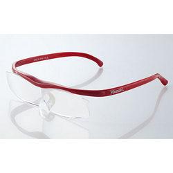 眼鏡の上からでも使えて、新聞や読書に重宝します