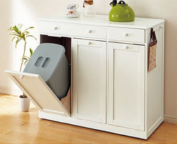キッチンカウンター?いえ、ゴミ箱なんです