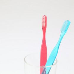 歯磨きはおやすみなさいの少し前に