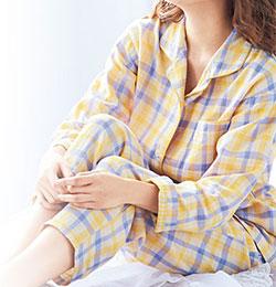 パジャマが変な体勢に一役買ってしまうことのないよう