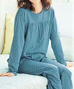 汗をきちんと吸ってくれる、気持ちのよいパジャマを