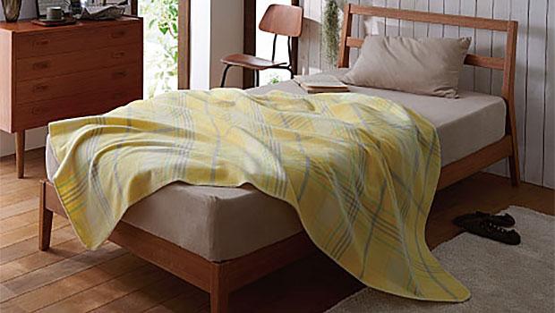 blanketを和訳すると、毛布になります。