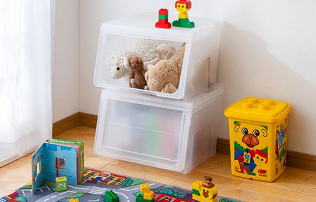 子供の成長に合わせて、収納スペースもアレンジ可能