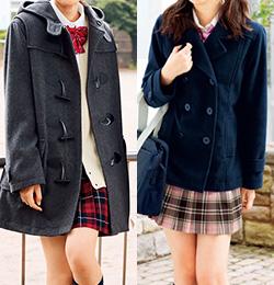コートの着丈で印象が変わります