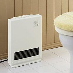 場所を取らない暖房器具が便利