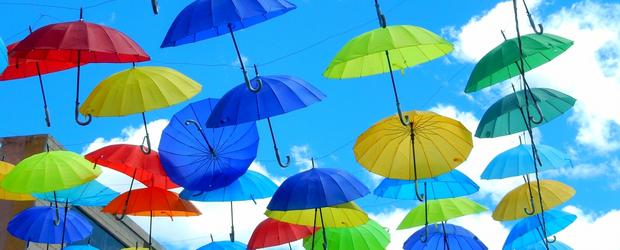 傘にもいろいろあるんです