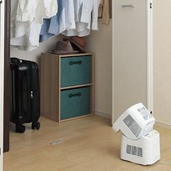 部屋干し時の強い味方になってくれる乾燥機