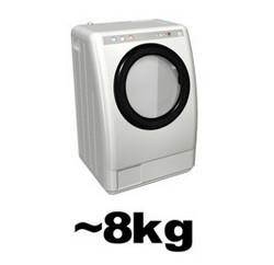 ファミリーサイズの洗濯機の場合