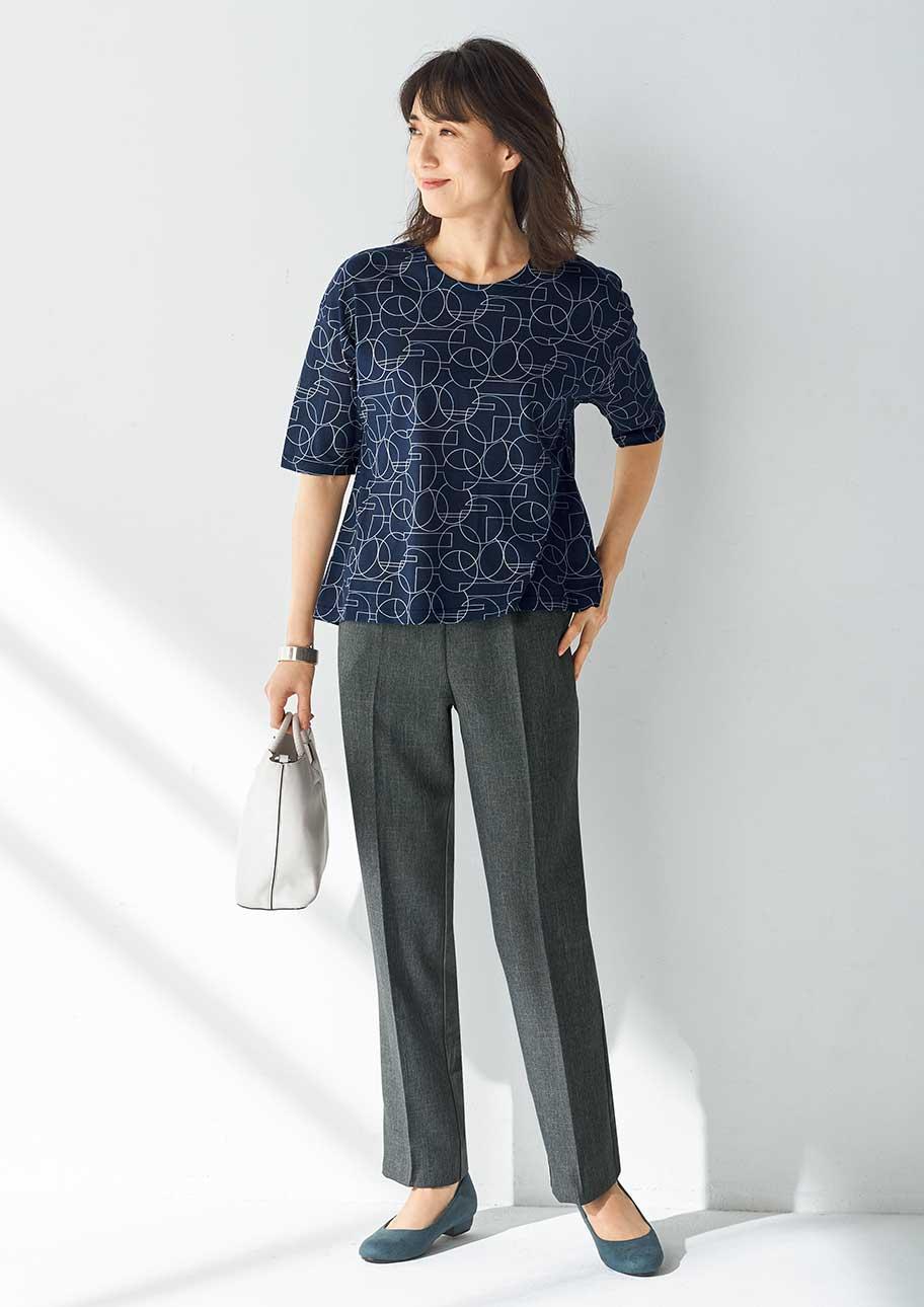 今のわたしにぴったりなのは、着まわしやすく毎日はきたい日本製パンツ