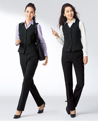 人気のベストスーツにパンツタイプが新登場!この品質でこの価格は見逃せない!さらにお家で洗えるのもうれしい。お値打ち感満点の2点セット。
